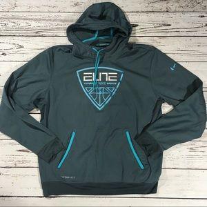 Nike basketball Elite therma fit hoodie pullover